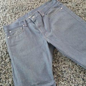 Men's 38x32 Levi's 511 Skinny Blue Jeans